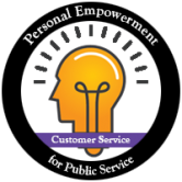 Icon for Customer Service in Public Service webinar